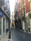 The streets of Murcia