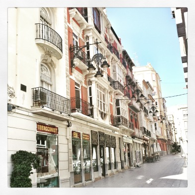 The streets of Cartagena