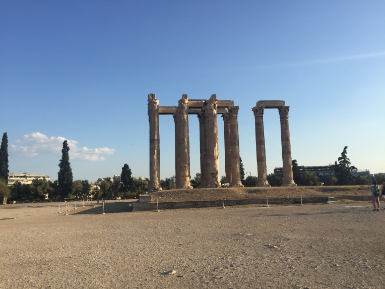 Hadrian's Gate, place of the ancient Olympic Games
